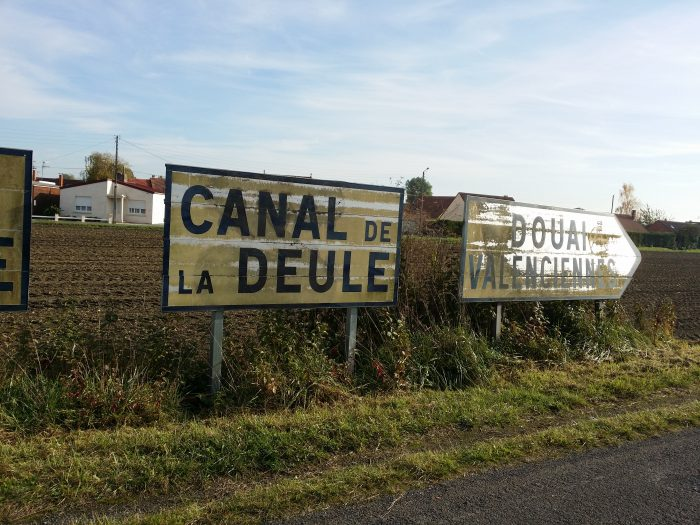 Riding along the Deule Canal